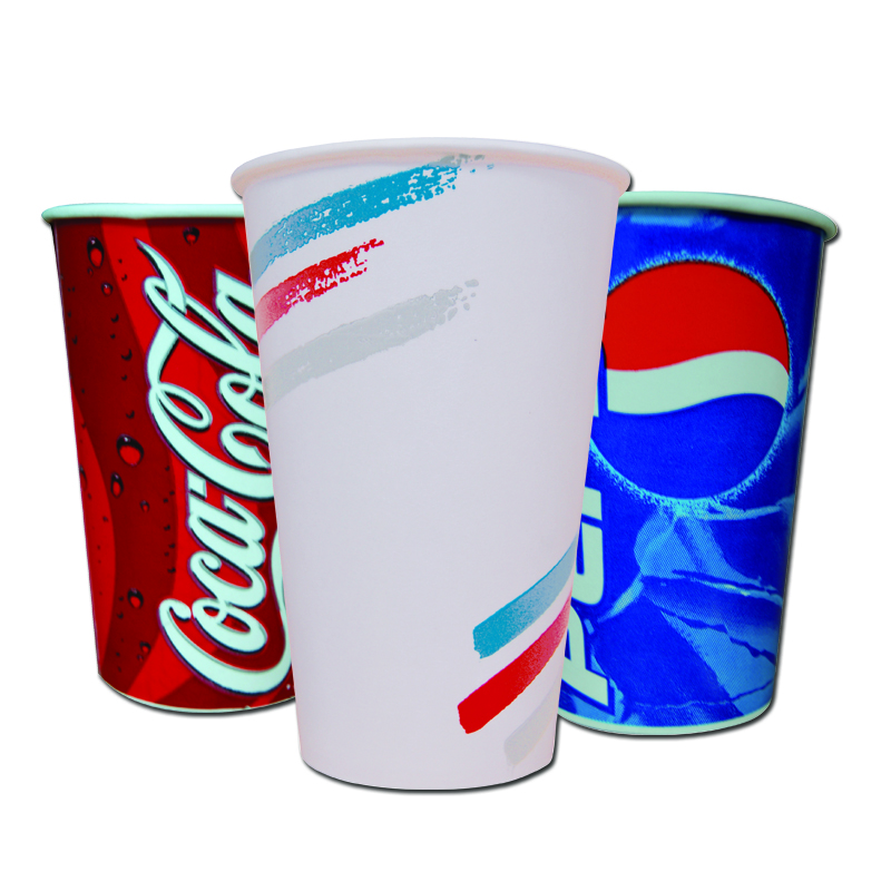 Cold Drink Cups, Lids & Straws