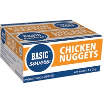 Basic Savers Halal Chicken Nuggets 1x2kg
