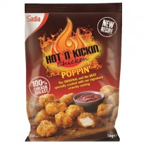 Sadia W/m Halal Hot N Kickin Poppin Chk 1kg