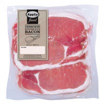 Appey Finest Unsmoked Rindless Back Bacon 2kg