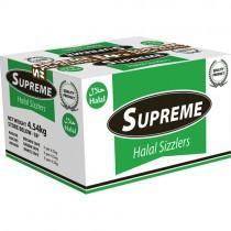 Supreme Halal Beef Sausage 8's 1x3.63kg