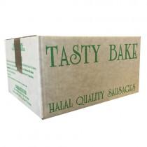Tasty Bake Halal Sausages 4's 1x4.54kg