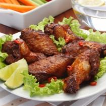 Golden Valley Halal Bbq Chk Wings*1kg Bag*