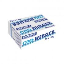 Breaded Formed Cod Portion (codburger)30x100g