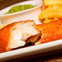 Battered Cod Fillet 8/10oz(230-290g)1x15