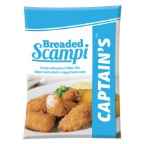 Captain's Reformed Scampi 1x400g
