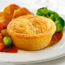 Unwrapped Pukka Steak&kidney Pie 1x12