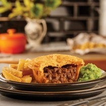 Unwrapped Pukka Beef&onion Pie 1x12