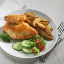 Cooked Halal Chicken Breast (10-12oz)x32