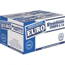 Euro Steakhouse Chips 9/18 *e03* 4x2.27kg