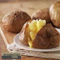 Bannisters Giant Jacket Potatoes (14-16oz) 1x30