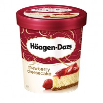 Haagen Dazs Straw Cheesecake 8x500ml