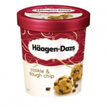 Haagen Dazs Cookie Dough 8x500ml