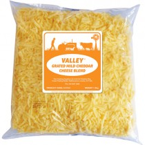 Valley *grated* Mild Cheddar Blend 1x1.8kg