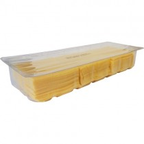 Mature Cheddar Slices Tray 1x1kg