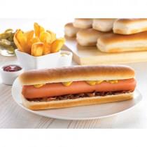 "Euro S/slice 8.5"" Jumbo Hot Dog Roll 8x6 (3003)"