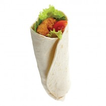 "Totally Tortilla 10"" Plain Wraps 5x10"