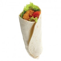 "Totally Tortilla 12"" Plain Wraps 5x10"