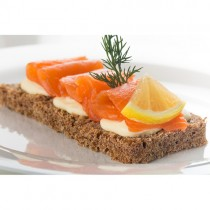 Frozen Long Sliced Scottish Smoked Salmon 1x400gr