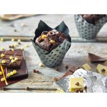 Triple Choc Flowerpot Muffin 24x115g