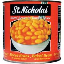 St Nicholas Baked Beans 6x2.65kg
