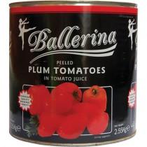 Spanish Plum Tomatoes 6x2.5kg (ballerina)