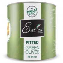 Eat'za Pitted Green Olives 1x3.1kg *tin*