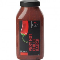 Lions Hot Chilli Sauce 2x2.27kg