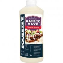 Squeeze-e Garlic Mayonnaise 6x1ltr