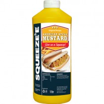 Squeeze-e American Style Mustard 6x1ltr