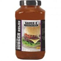 Saucee Burger Relish 1x2.27ltr