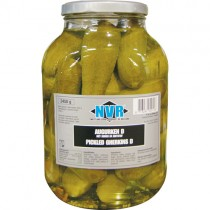 Dutch Gherkins Nvr (glass Jar)1x2.45kg