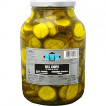 Dutch Gherkins Nvr **sliced**1x2.45kg Jar