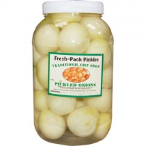 Fresh Pack Pickled Onions(plastic Jar)1x4kg