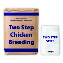 2 Step Breading & Spice (blue Text) 1x13.58kg