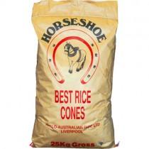 Rice Cones(horseshoe)25kg