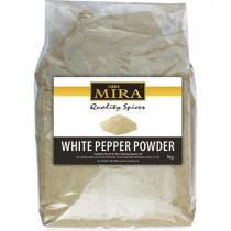 Mira White Pepper Powder 1kg
