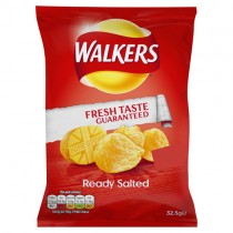 Walkers Ready Salted 32x32.5g