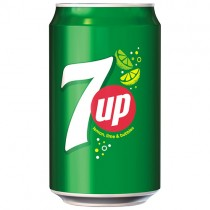 7up Can (gb) 24x330ml