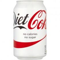 Diet Coke Cans (gb) 24x330ml