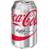 Light Coke Cans (imp) 24x330ml
