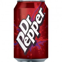 Dr Pepper Cans 24x330ml (gb)