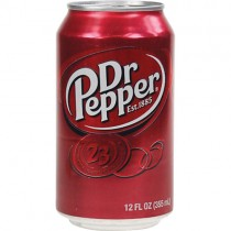 Dr Pepper Cans (imp) 24x330ml