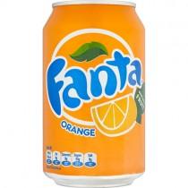 Fanta Orange Cans (gb) 24x330ml