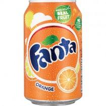 Fanta Orange Cans (imp) 24x330ml