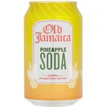 Dg Jamaican Pineapple Soda 24x330ml.