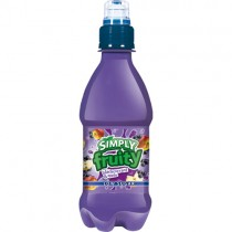 Simply Fruity Blackcurrant & Apple 12x330ml