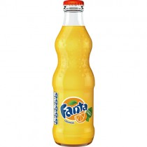 Fanta Orange Glass Bottles 24x330ml.