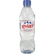 Evian Still Water 24x500ml.