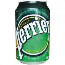 Perrier Water Can 24x330ml.